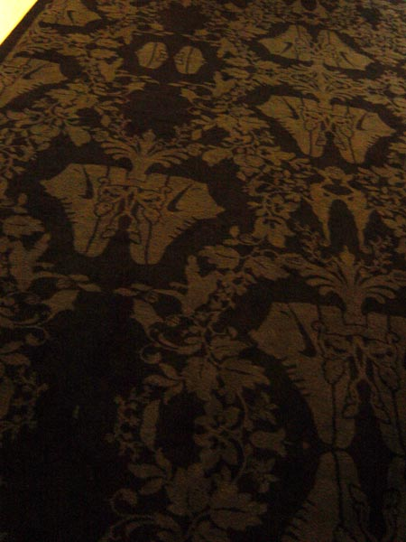 the carpet